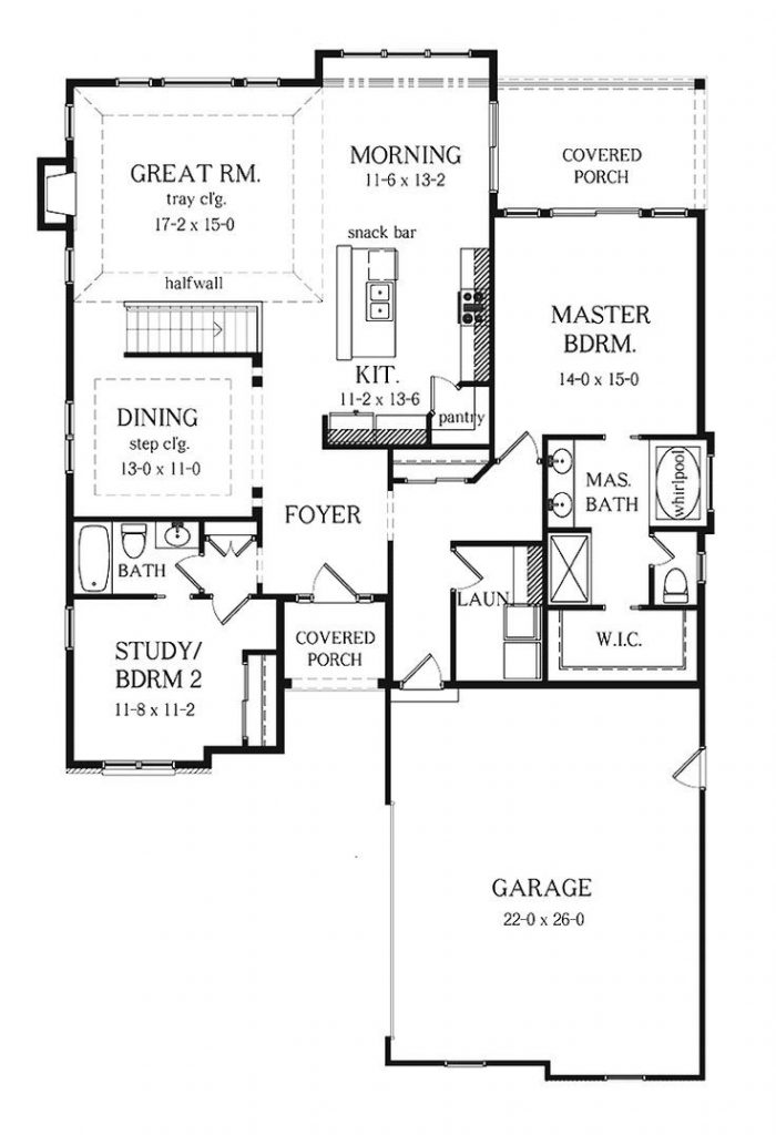 Small 2 Bedroom House Plans With Basement Novocom Top