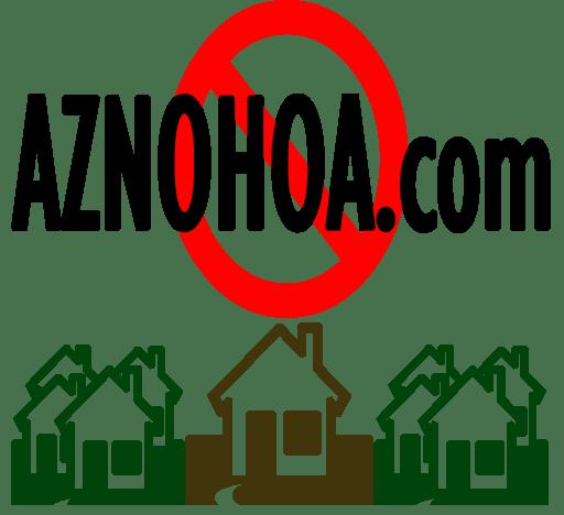 AZ Homes For Sale with No HOA