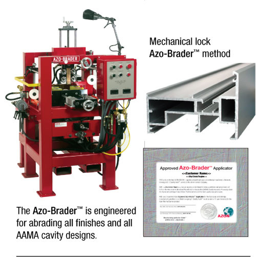 Azo-Brader with example warranty