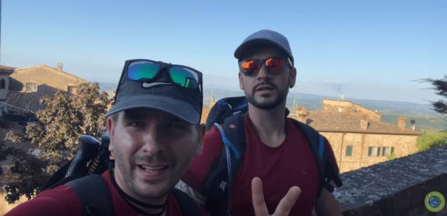 La tappa 30 della via Francigena San Miniato Gambassi Terme