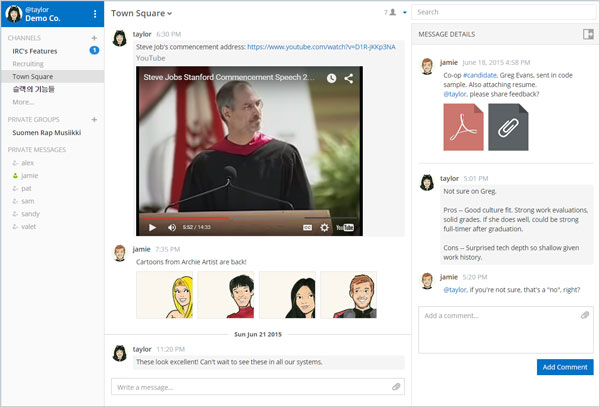Mattermost – Open Source Slack Alternative