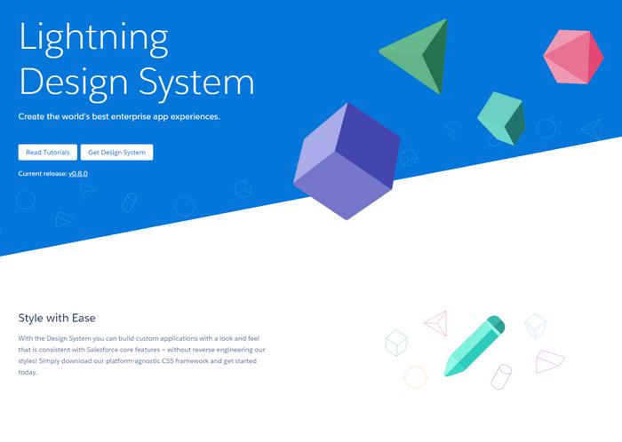 Open Source Framework – Lightning Design System