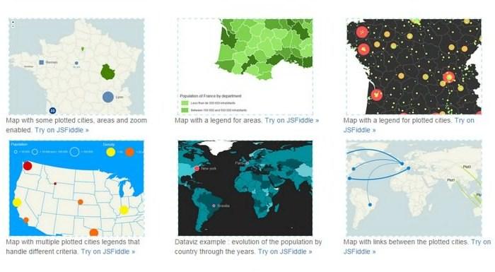 jQuery Mapael – Display Dynamic Vector Maps