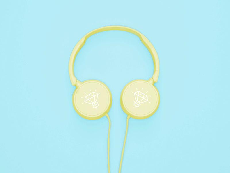 Free Headphones Mock-up for Adobe Photoshop