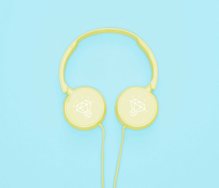 Free Headphones Mock-up for Adobe Photoshop