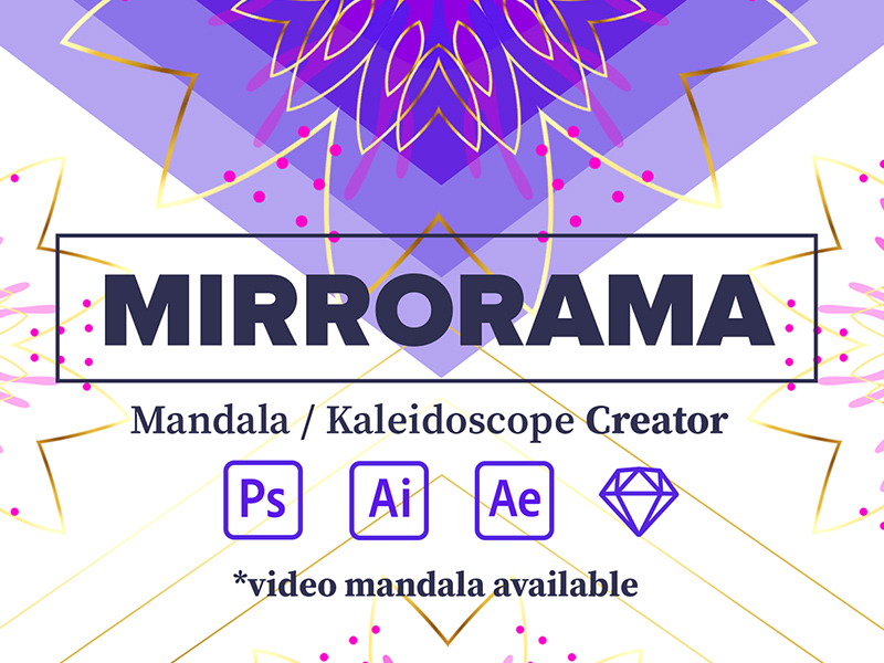 Mirrorama Pattern Kit