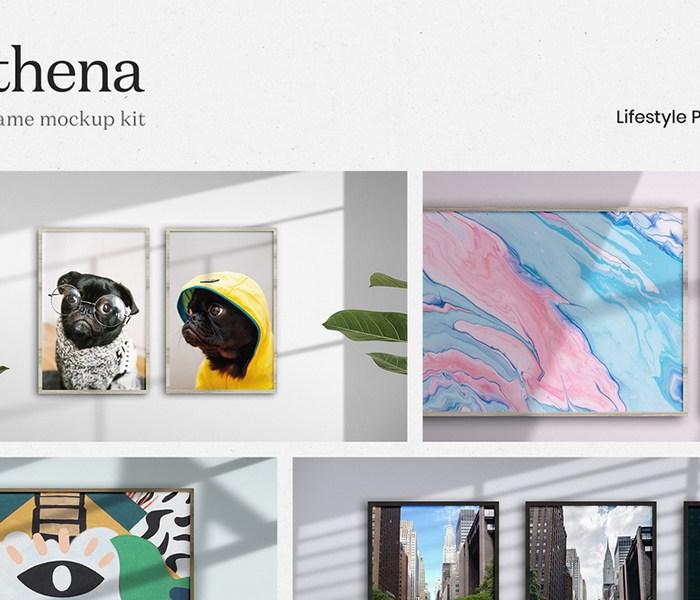 Athena: Frame Mockup Kit
