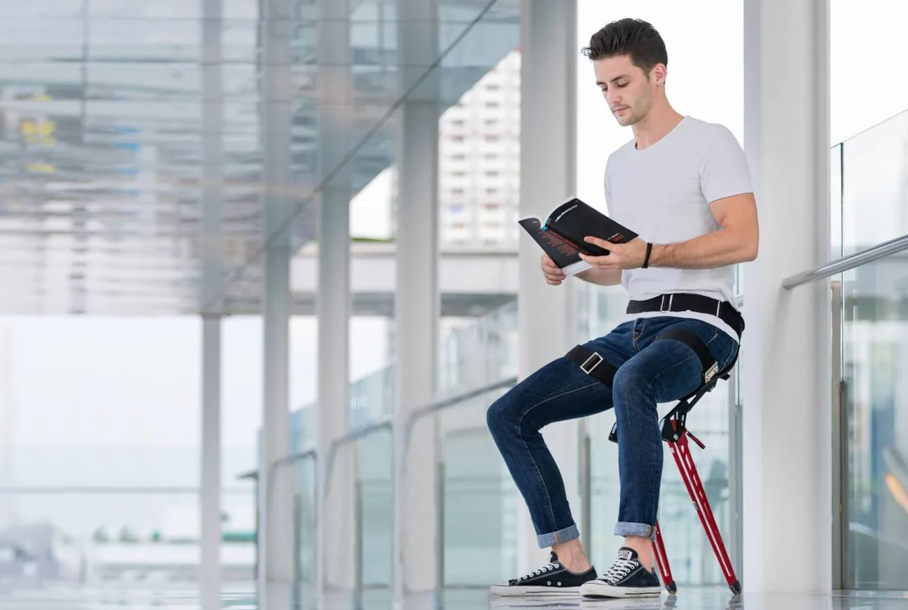 Say hello to – LEX: A Bionic Wearable Chair that Enhance Posture, Comfort & Life!