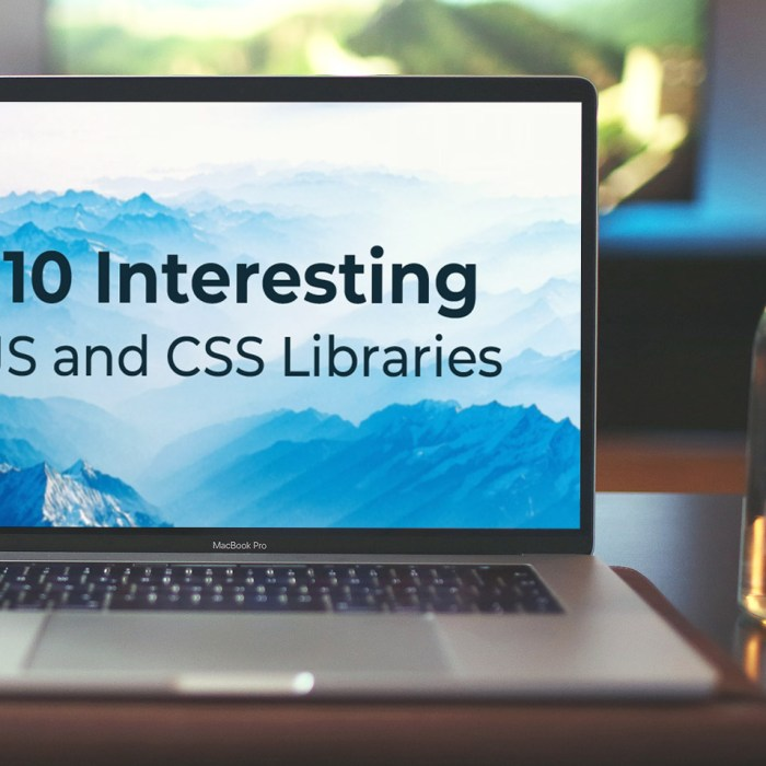 10 Interesting JS and CSS Libraries for November 2019