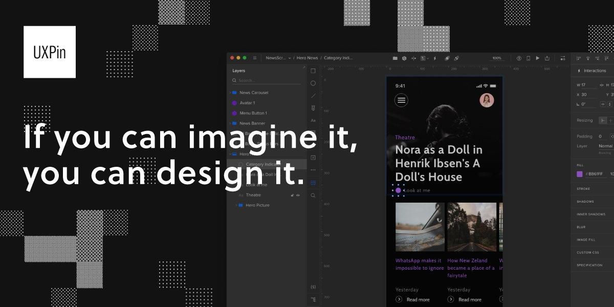 UXPin: A Complete Design & Prototyping Solution
