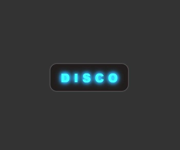 CSS Disco Text