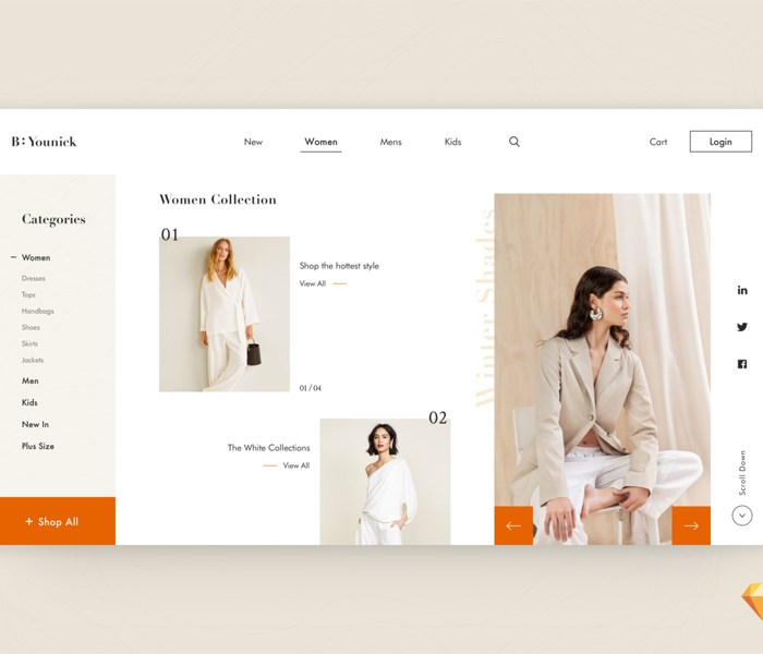 Fashion E-Shop Website Template