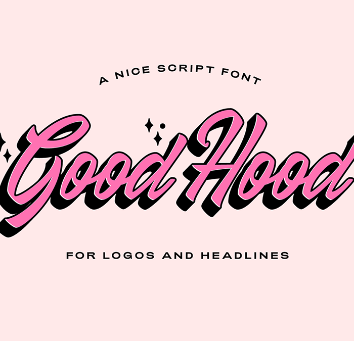 Good Hood: A Nice Script Font for Free