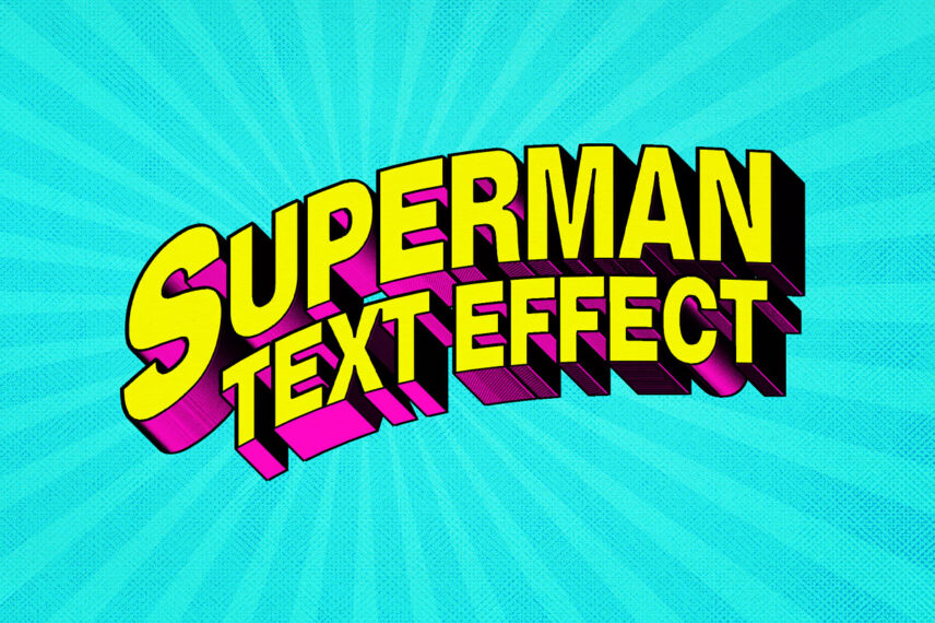 Superhero Comic Text Effect