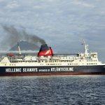 Express Santorini im Hafen von Horta