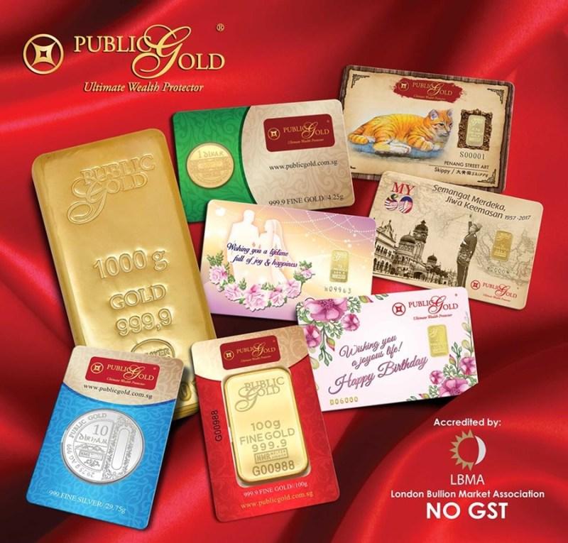 emas fizikal boleh ambil di cawangan POS ArRahnu selain di cawangan Public Gold