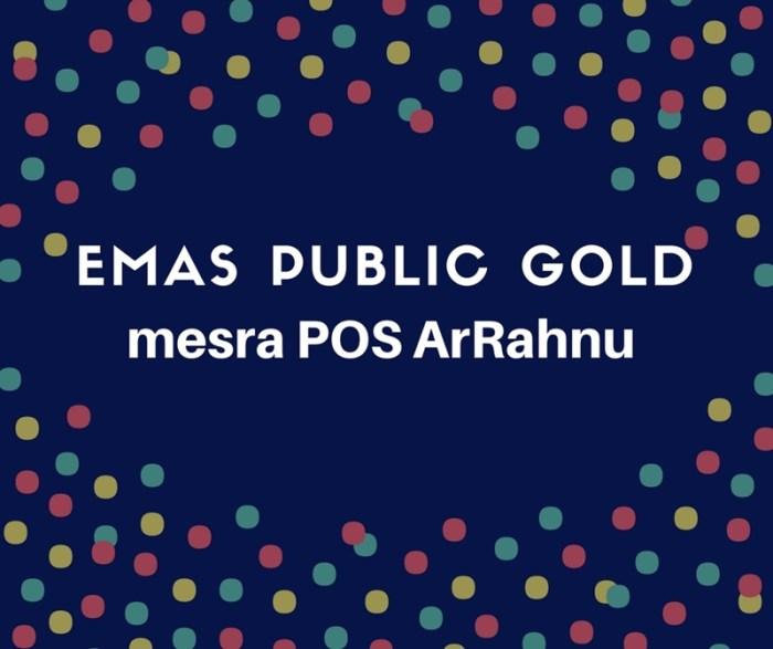 emas public gold mesra POS ArRahnu