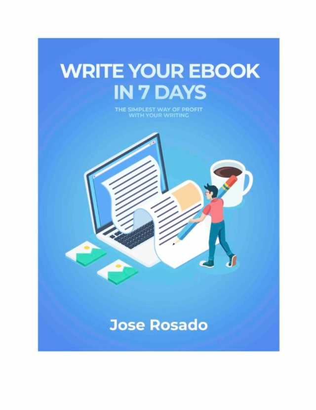 Book Review: Write Your Ebook In 23 Days by Jose Rosado