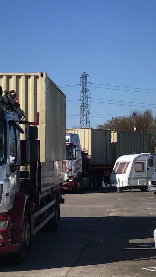 Storage Container Delivery AZ Self Storage North Shields