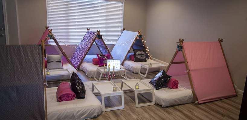 AZ Sleepy Teepee The Ultimate Sleepover Phoenix Kids Birthday Parties and Entertainment Scottsdale (1)