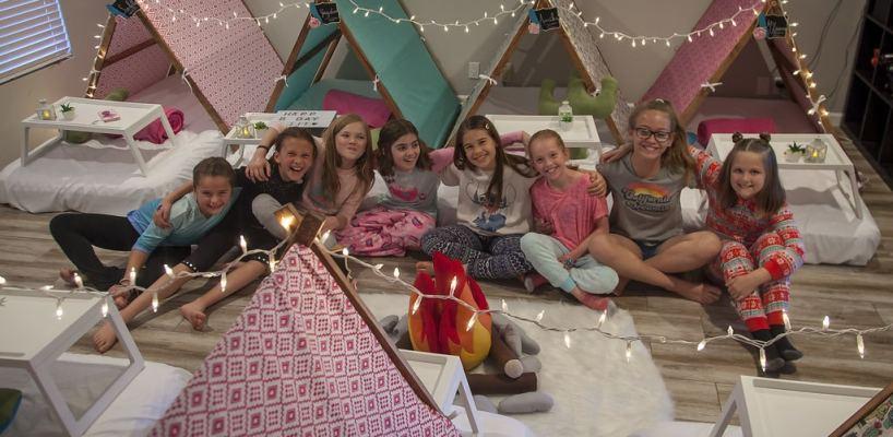 AZ Sleepy Teepee The Ultimate Sleepover Phoenix Kids Birthday Parties and Entertainment Scottsdale (101)