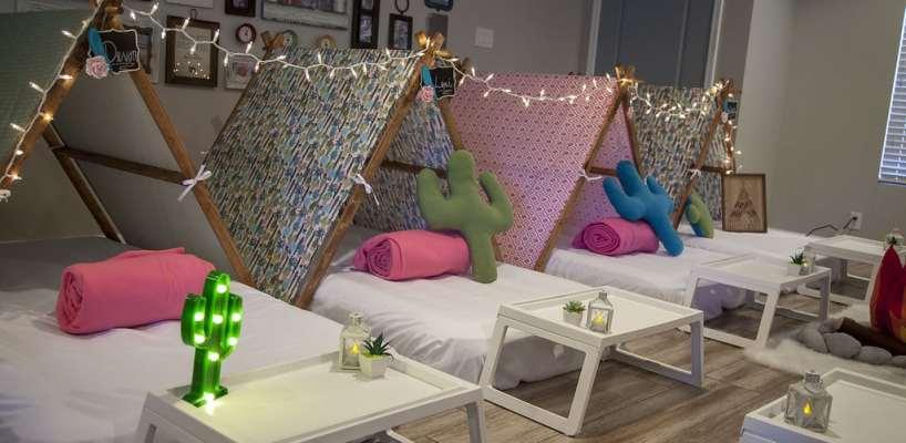 AZ Sleepy Teepee The Ultimate Sleepover Phoenix Kids Birthday Parties and Entertainment Scottsdale (64)