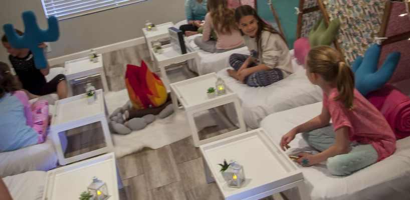 AZ Sleepy Teepee The Ultimate Sleepover Phoenix Kids Birthday Parties and Entertainment Scottsdale (83)