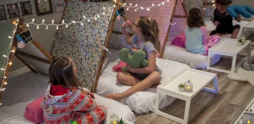 AZ Sleepy Teepee The Ultimate Sleepover Phoenix Kids Birthday Parties and Entertainment Scottsdale (85)