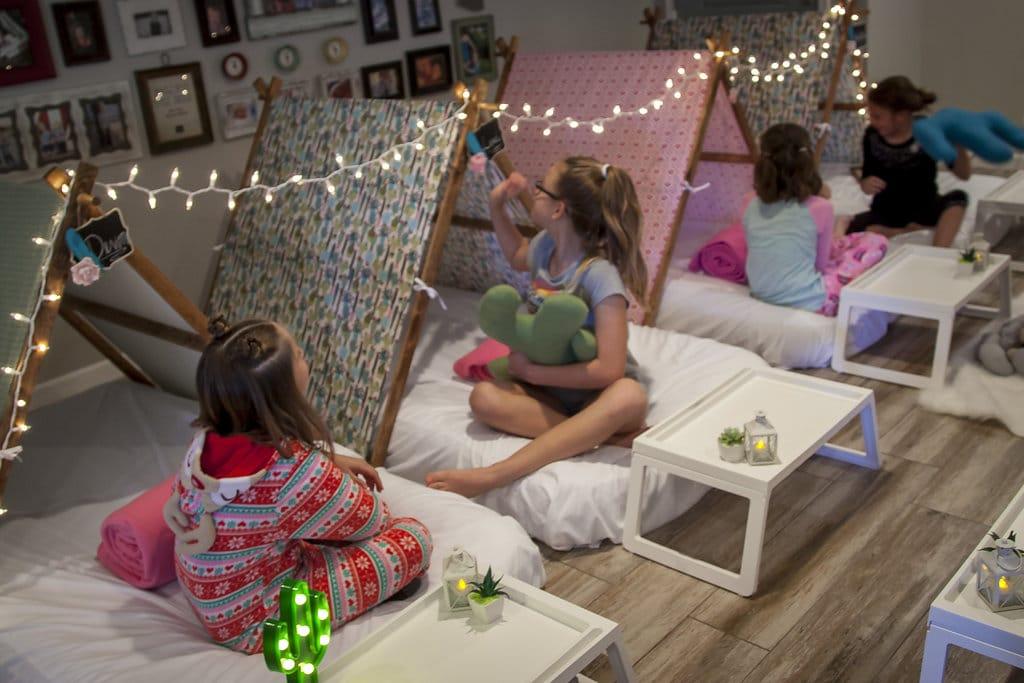 AZ Sleepy Teepee The Ultimate Sleepover Phoenix Kids Birthday Parties And Entertainment Scottsdale 85