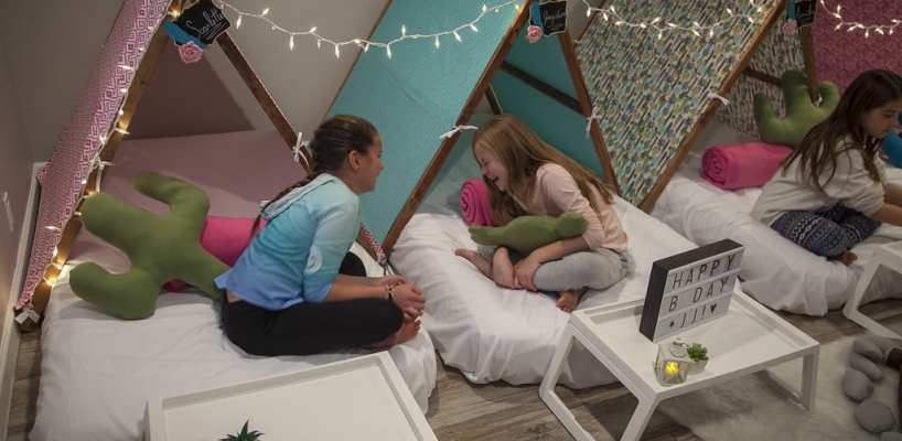 AZ Sleepy Teepee The Ultimate Sleepover Phoenix Kids Birthday Parties and Entertainment Scottsdale (89)