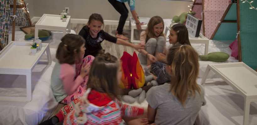 AZ Sleepy Teepee The Ultimate Sleepover Phoenix Kids Birthday Parties and Entertainment Scottsdale (94)