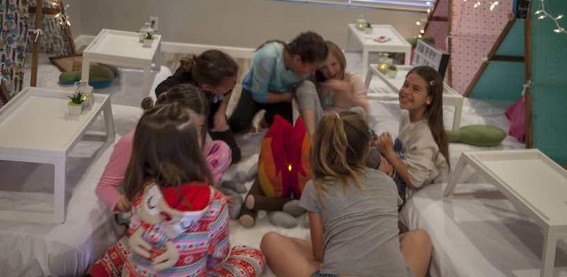 AZ Sleepy Teepee The Ultimate Sleepover Phoenix Kids Birthday Parties and Entertainment Scottsdale (97)