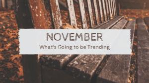 November trending on social media