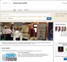 Greater Phoenix SCORE LinkedIn Page