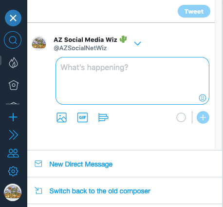 Switch back to the old TweetDeck to schedule out posts
