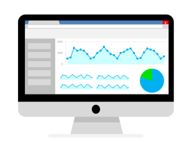 check your website  analytics every month