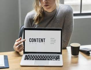 content marketing is key for online marketing