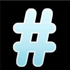 Hashtags are powerful on Twitter