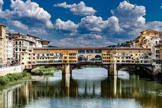 Ponte Veccio (Old Bridge) Florence, Italy