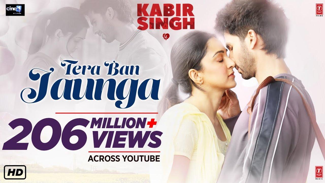 Tera Ban Jaunga lyrics in Hindi and Tera Ban Jaunga lyrics in English, Tera Ban Jaunga song lyrics, Tera Ban Jaunga lyrics Kabir Singh by Akhil Sachdeva and Tulsi Kumar