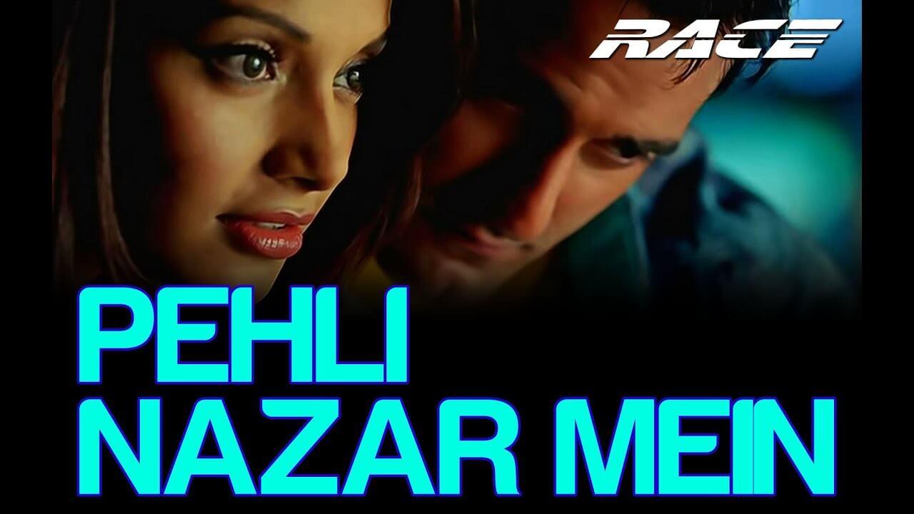 पहली नज़र में Pehli Nazar Mein Lyrics in Hindi and English - Race (2008), Atif Aslam