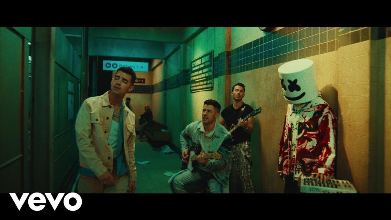 Leave Before You Love Me Lyrics - Marshmello, Jonas Brothers, English Song 2021