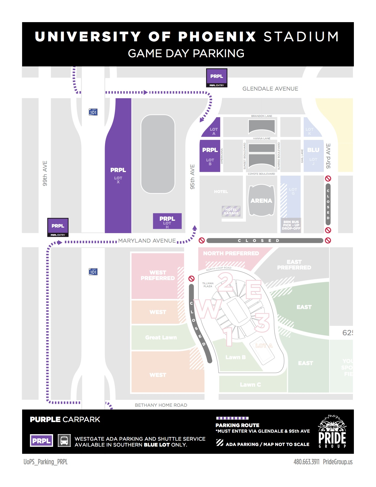 University Of Phoenix Stadium Parking