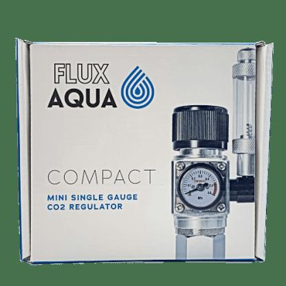 FluxAqua Compact Mini Single Gauge CO2 Regulator