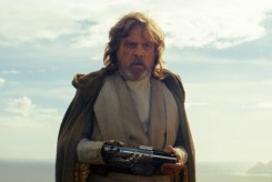 Star Wars: The Last Jedi Luke Skywalker (Mark Hamill) Photo: Lucasfilm Ltd. © 2017 Lucasfilm Ltd. All Rights Reserved.