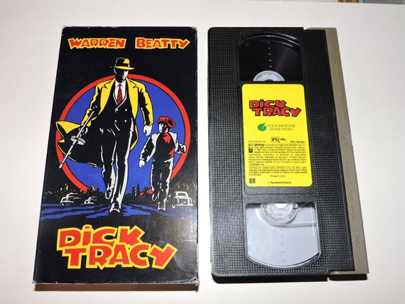Dick Tracy Vhs