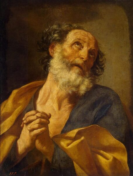 Repentance of St. Peter by Reni