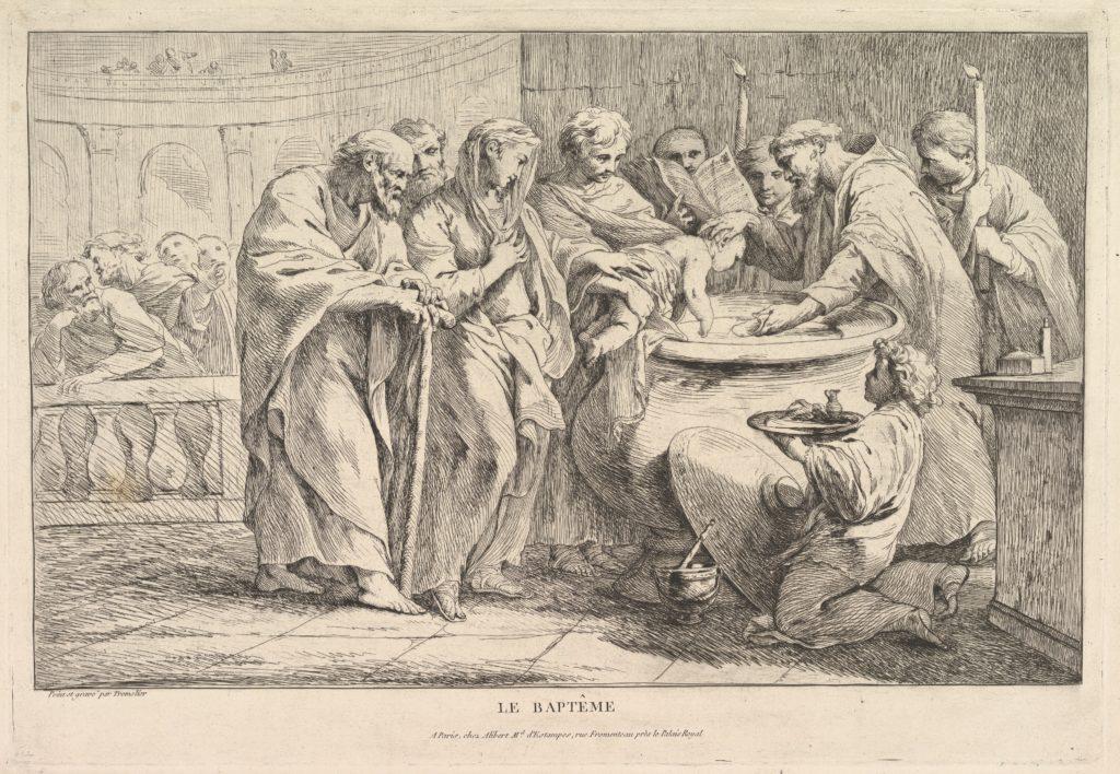 The Baptism by Pierre Charles Trémolières