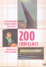 """""""200 Cadillacs"""" Rex's Documentary Film on DVD & Soundtrack CD are <br>All About Elvis!"""