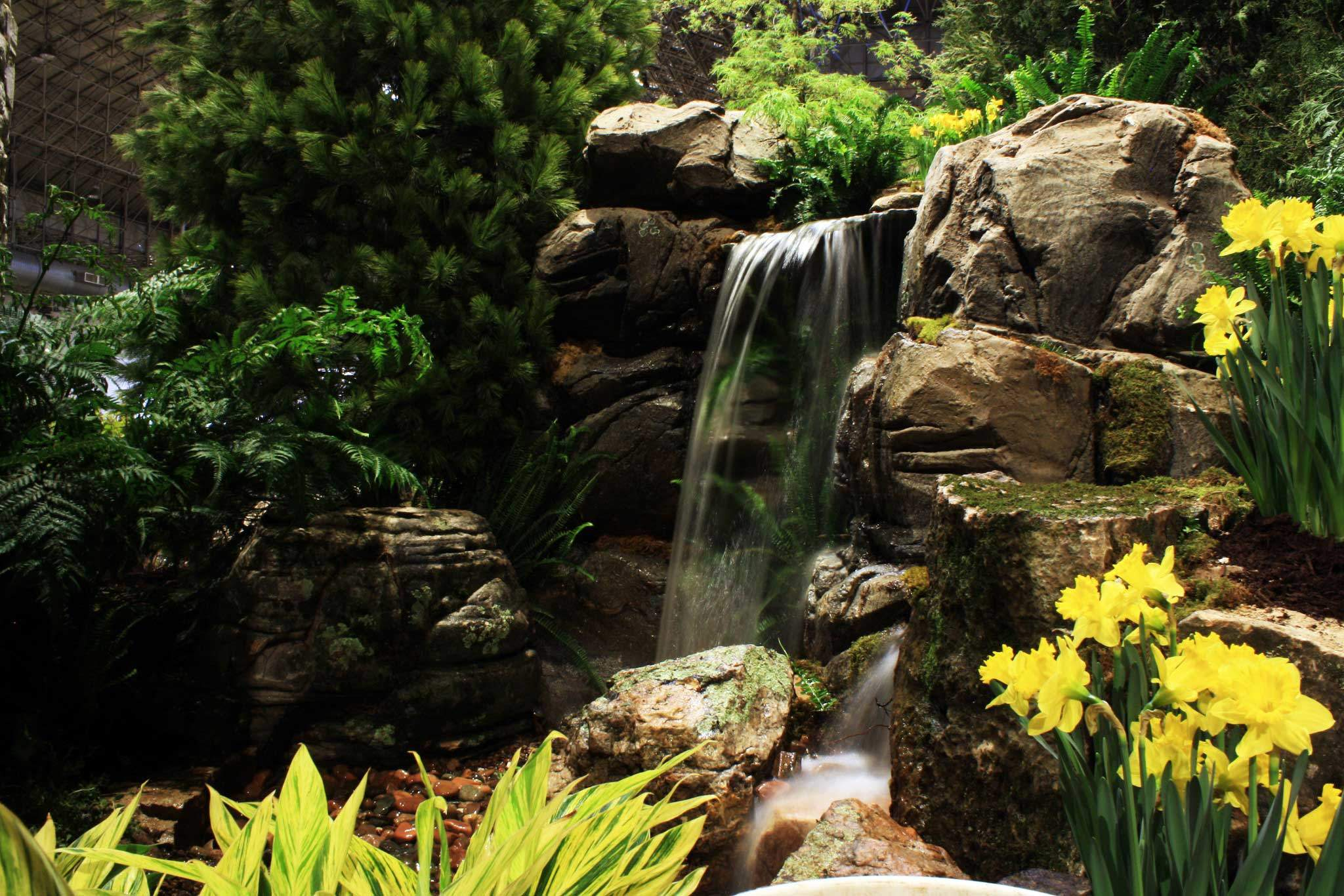 Landscape waterfall pondless, Poughkeepsie NY